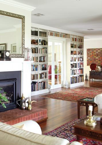 Cool Built In Bookshelves  Ideas For Adding Bookshelves Around A Door