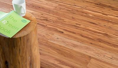 Today's flooring possibilities are endless. You can chose to install  concrete, hardwood, bamboo, leather, cork or vinyl —and those are just to  name a few. - Eucalyptus Hardwood Is A New Choice For Eco-Friendly Flooring In