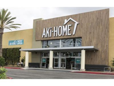 a new name in home goods is settling in to the us market with two large retail stores now open in orange county california aki home a japanese home