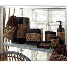 leopard print bathroom accessories  gerryt, Bathroom decor