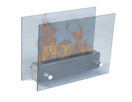 Silhouette Portable Fireplace