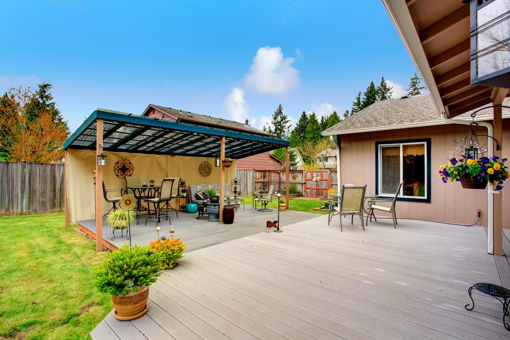 basement ceiling color ideas - Tips For Building A Ground Level Deck